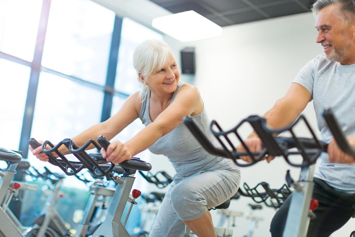 The study found that those who keep physically active had levels of physiological function that would place them at a much younger age, when compared to the general population / Shutterstock