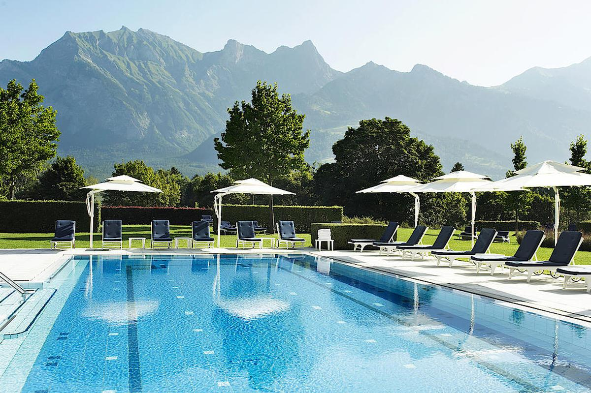"The spa and wellness offerings are created around the local thermal waters, discovered in 1242 in the nearby Tamina gorge, and referred to as the ""blue gold"" of Bad Ragaz"