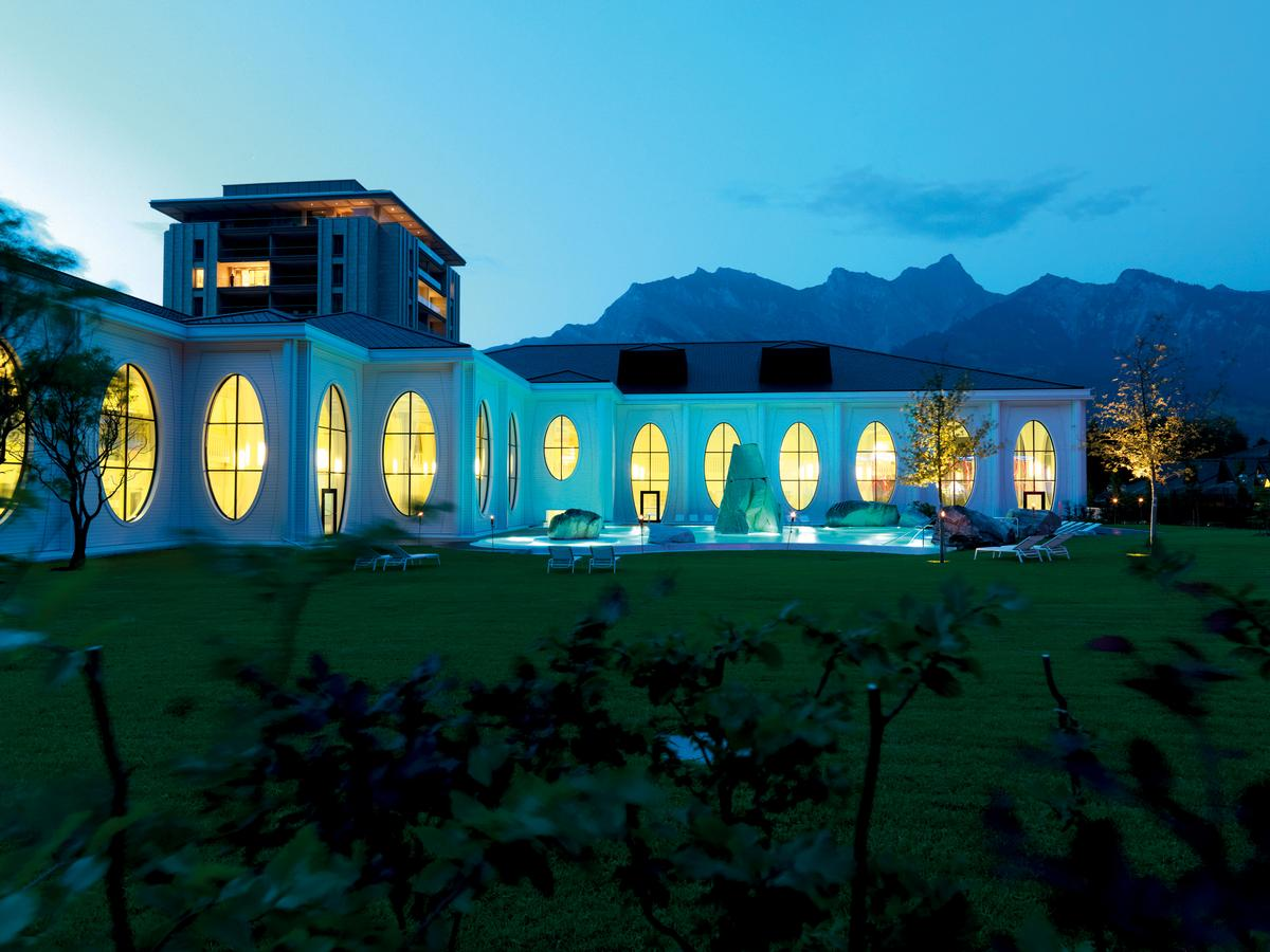 Grand Resort Bad Ragaz is one of Europe's leading wellbeing and medical health resorts, and includes two five-star hotels: the Grand Hotel Quellenhof & Spa Suites and Grand Hotel Hof Ragaz