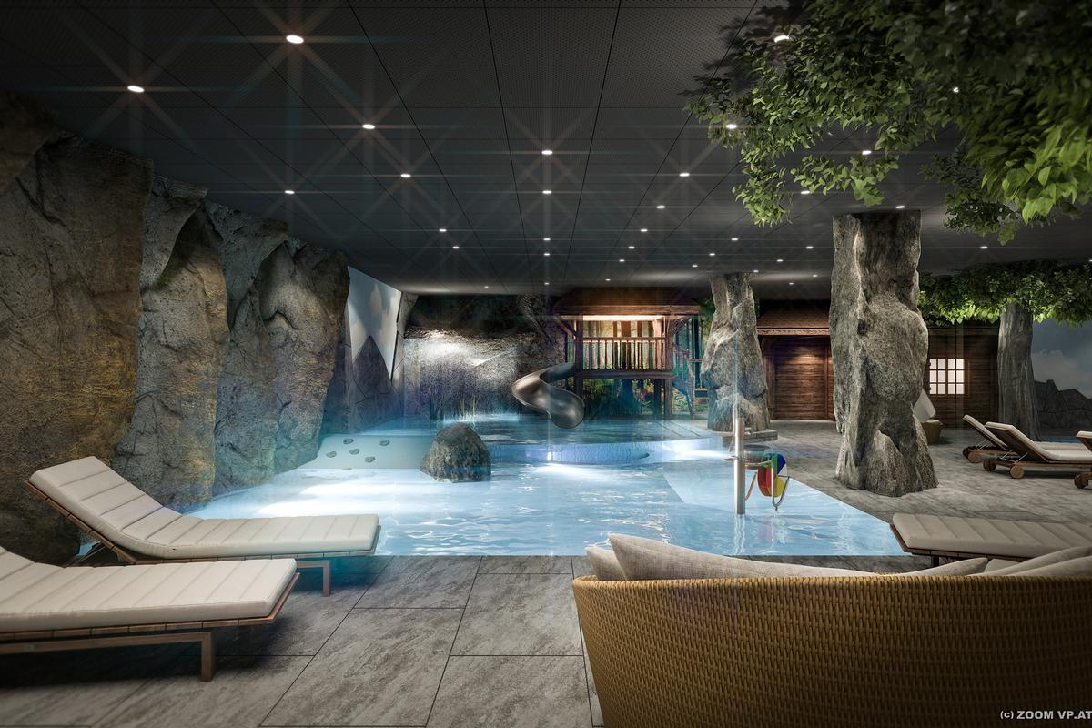 Carbone Interior Design is also creating the resort's upcoming family spa, scheduled to open in April 2018