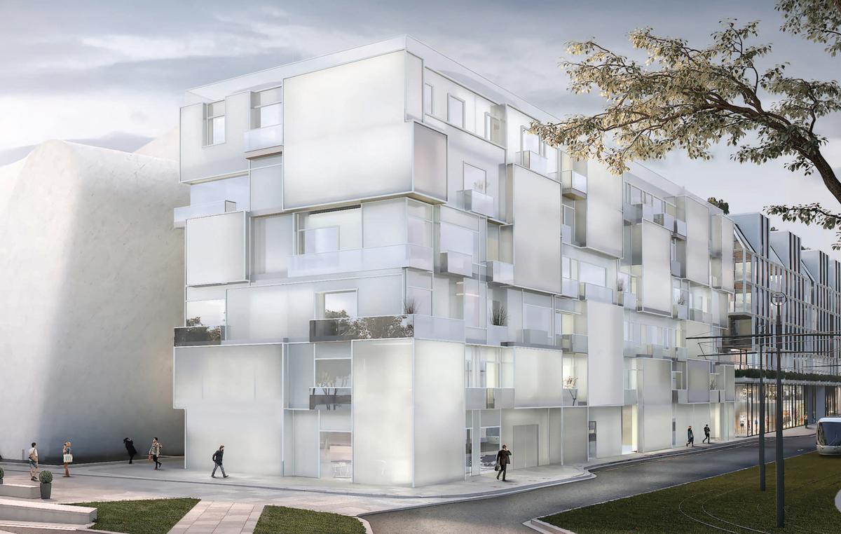 / Steven Holl Architects, Compagnie de Phalsbourg and XO3D