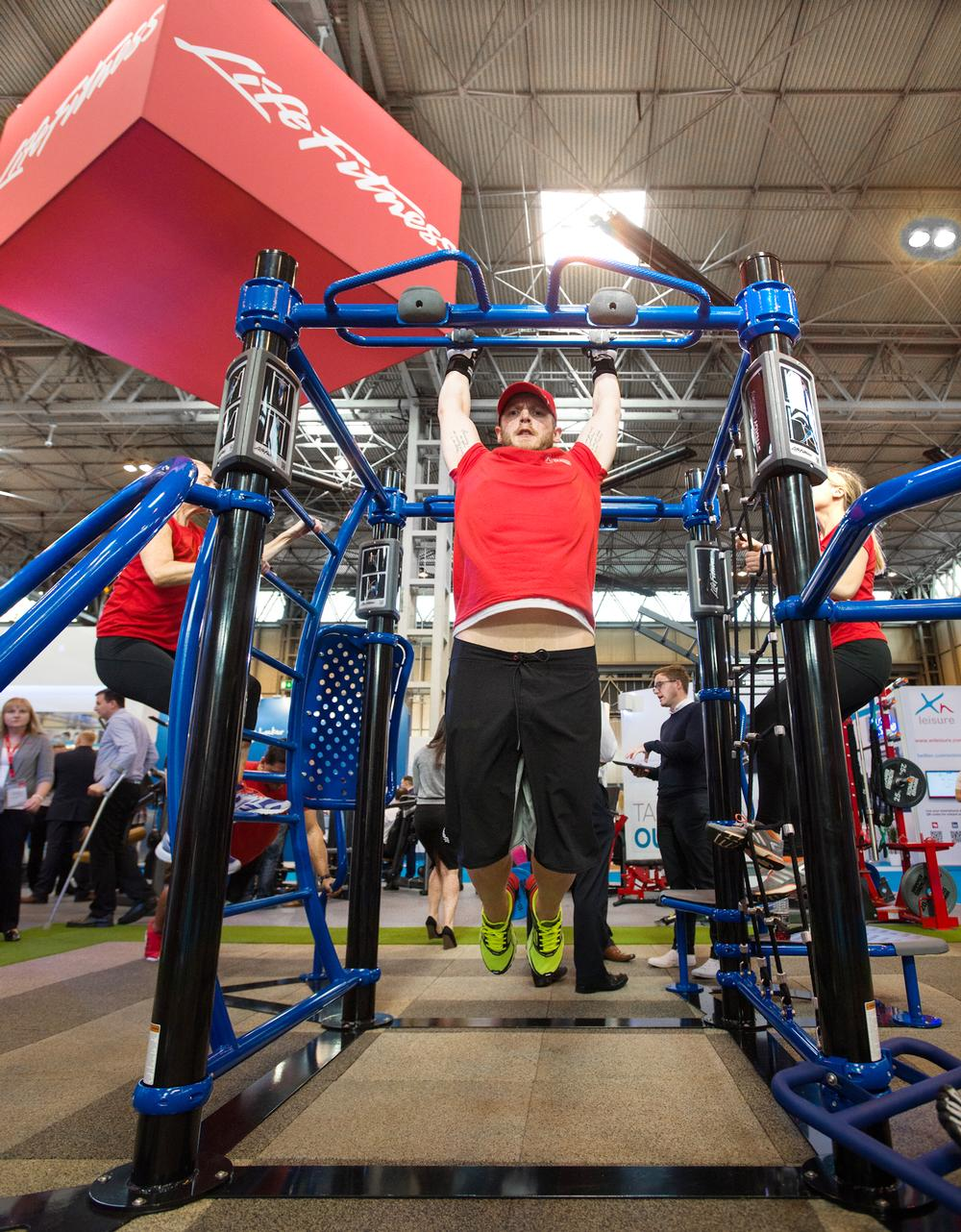 Life Fitness launched a record number of new products at this year's show