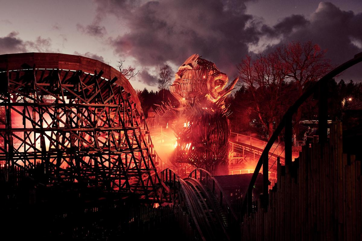 Of 2018's new openings, Alton Towers' Wicker Man – the first new wooden rollercoaster in Britain in more than 20 years – is among the most significant