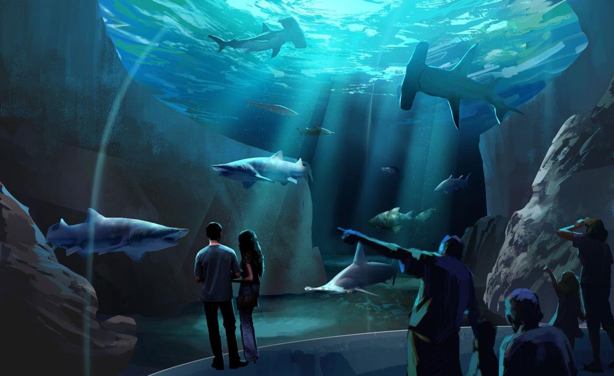 The Georgia Aquarium first announced the plans in February, naming PGAV Destinations as lead architect on the project