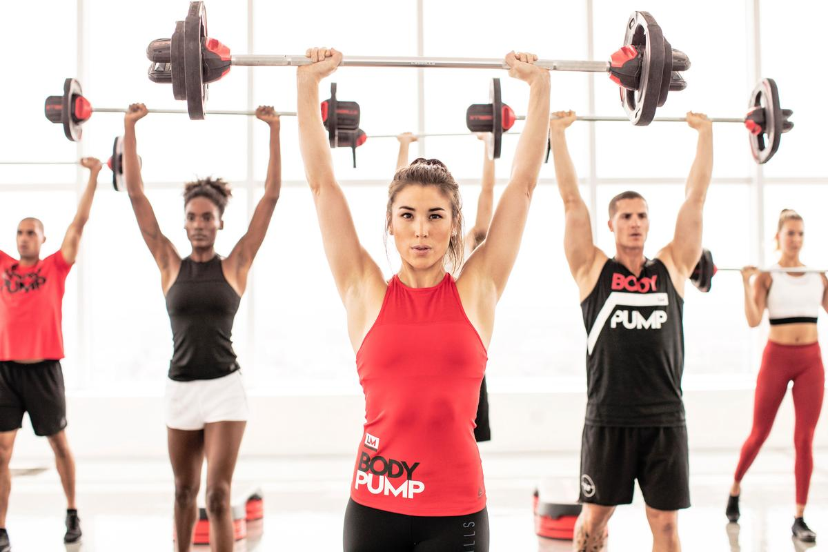 The study compared the levels of HGH present in those taking part in Bodypump and cardio cycling workouts  / Les Mills