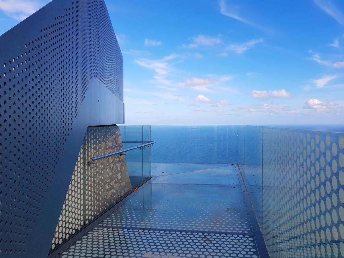 Mark Hamill Opens New Skywalk On Rock Of Gibraltar