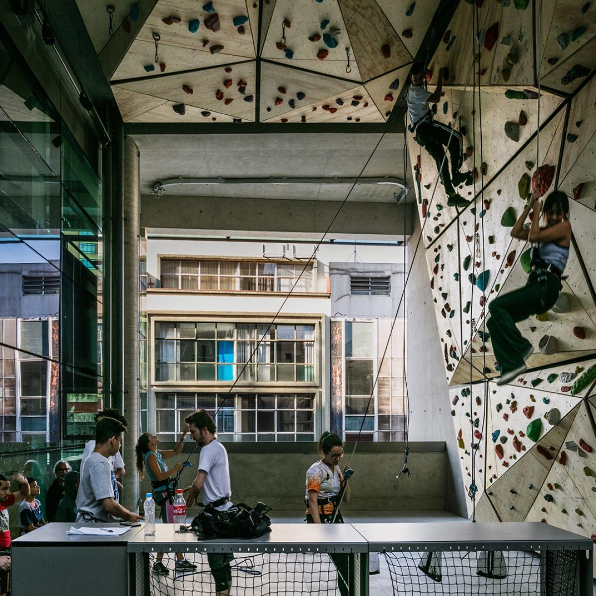 A health club and climbing wall are among the leisure facilities that have opened