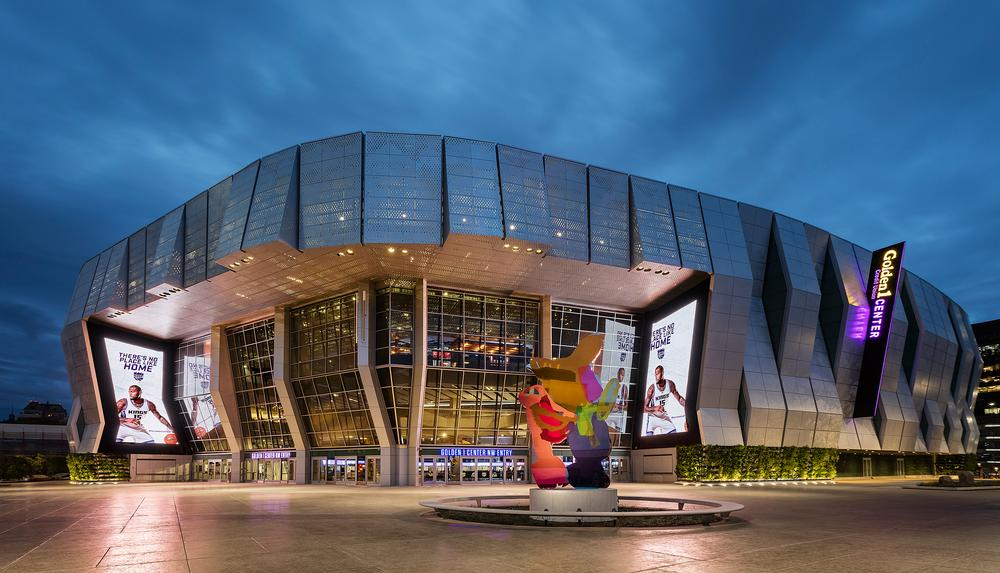 The publicly-owned arena is part of a Sacramento business and entertainment district / PHOTO: PAUL CROSBY