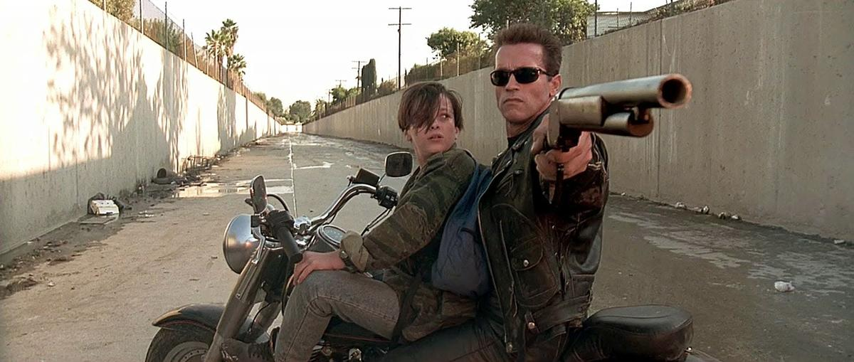 The Lower LA River famously featured in Terminator 2 / YouTube