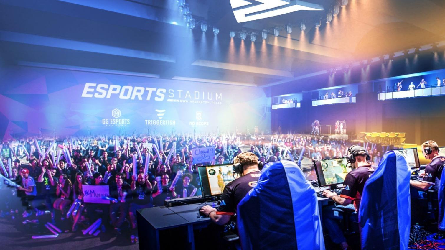 The City and investment firm Esports Ventures will invest US$10m (€8m, £7m) into the project to create 'the most immersive spectator experience in the live esports event market' / Populous