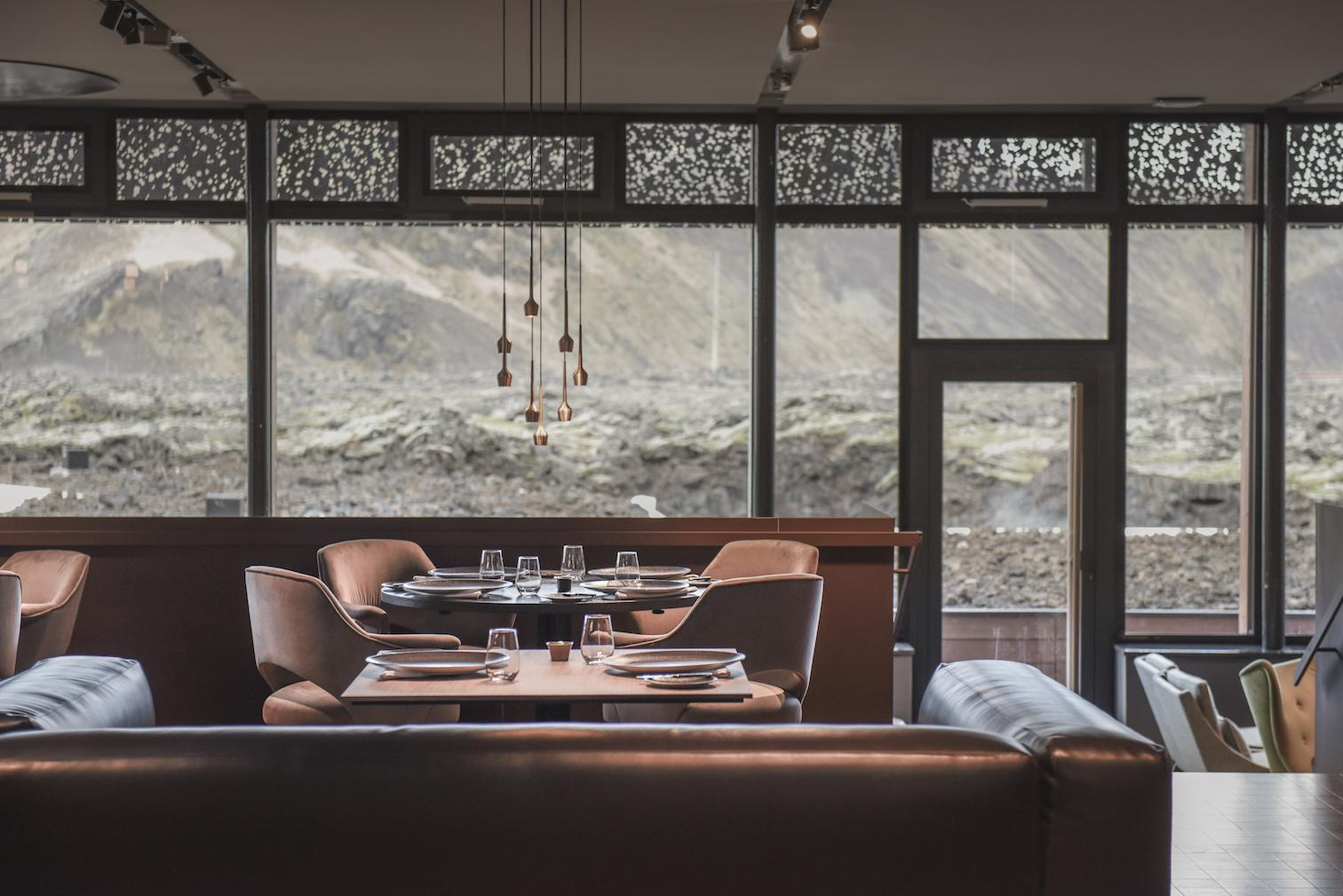 The upscale Moss Restaurant highlights seasonal and regional ingredients