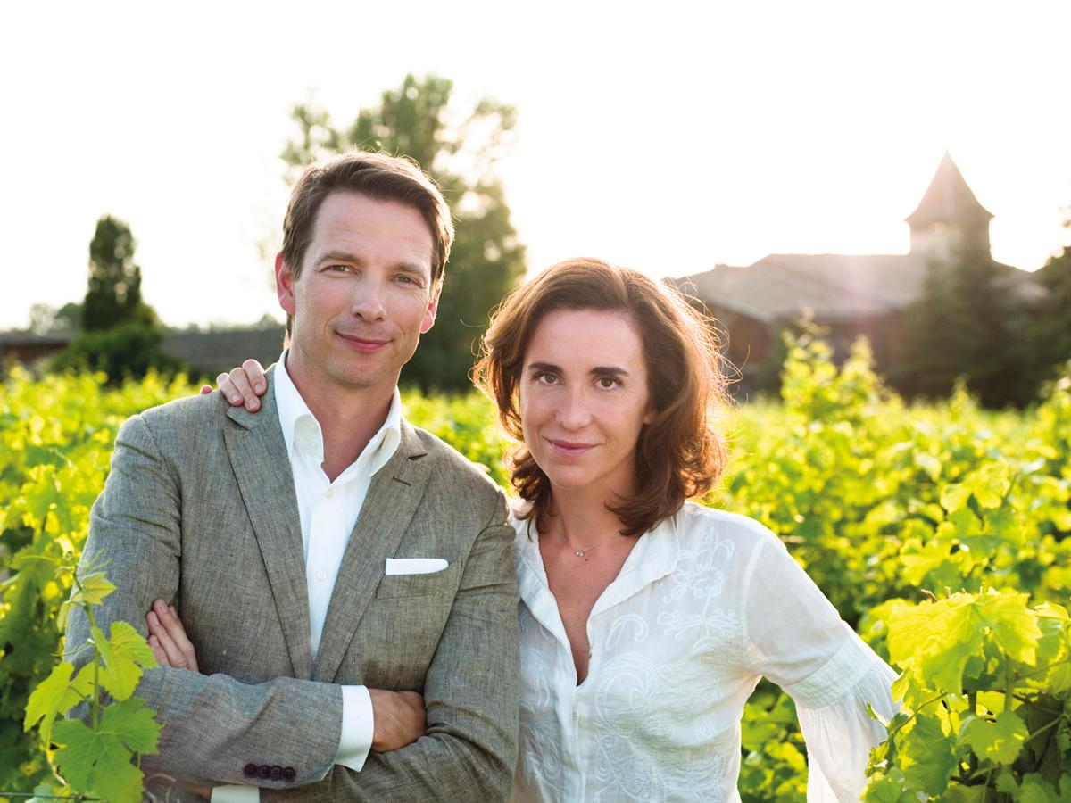 Mathilde and Bertrand Thomas, founders of Caudalie / Cristina Mello