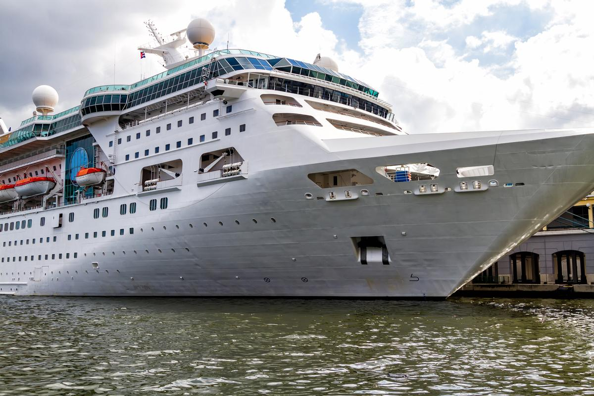 The increase has been accredited to Visit Belfast's new 'Cruise Belfast' campaign