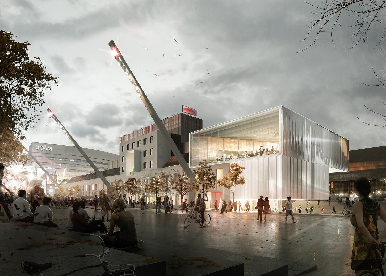 Winning design revealed for Montreal contemporary art museum expansion