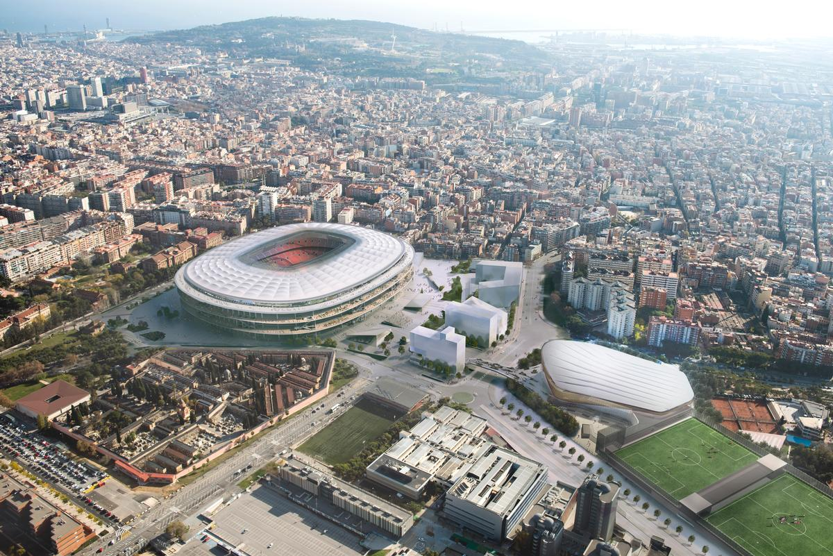 Fc Barcelona Make Breakthrough In Bid To Build New Stadium And Barca District Architecture And Design News Cladglobal Com