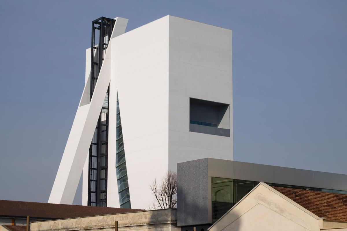 The building opened to the press during Milan Design Week / Jacopo Milanesi, Courtesy of OMA