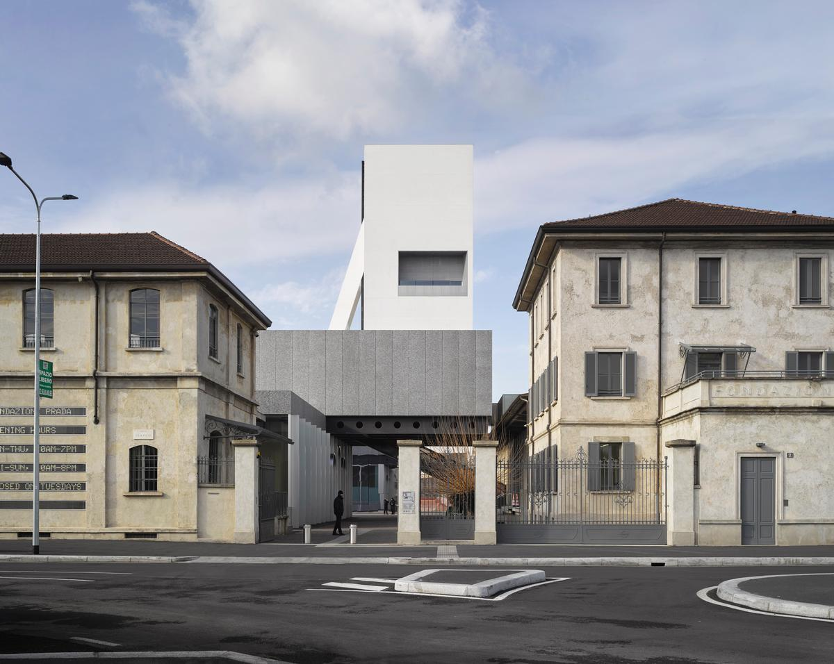 OMA complete latest expansion for Milan's Fondazione Prada