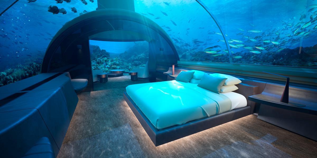 Conrad Maldives Rangali Island Hotel Reveals Us 15m