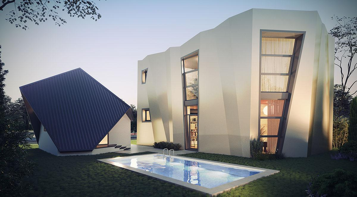 Daniel Libeksind has also provided a design for the ambitious property firm / Revolution Precrafted