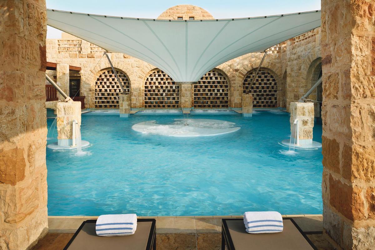 Mövenpick often operates substantial spas, including the recently renovated 6,000sq m Dead Sea Spa in Jordan