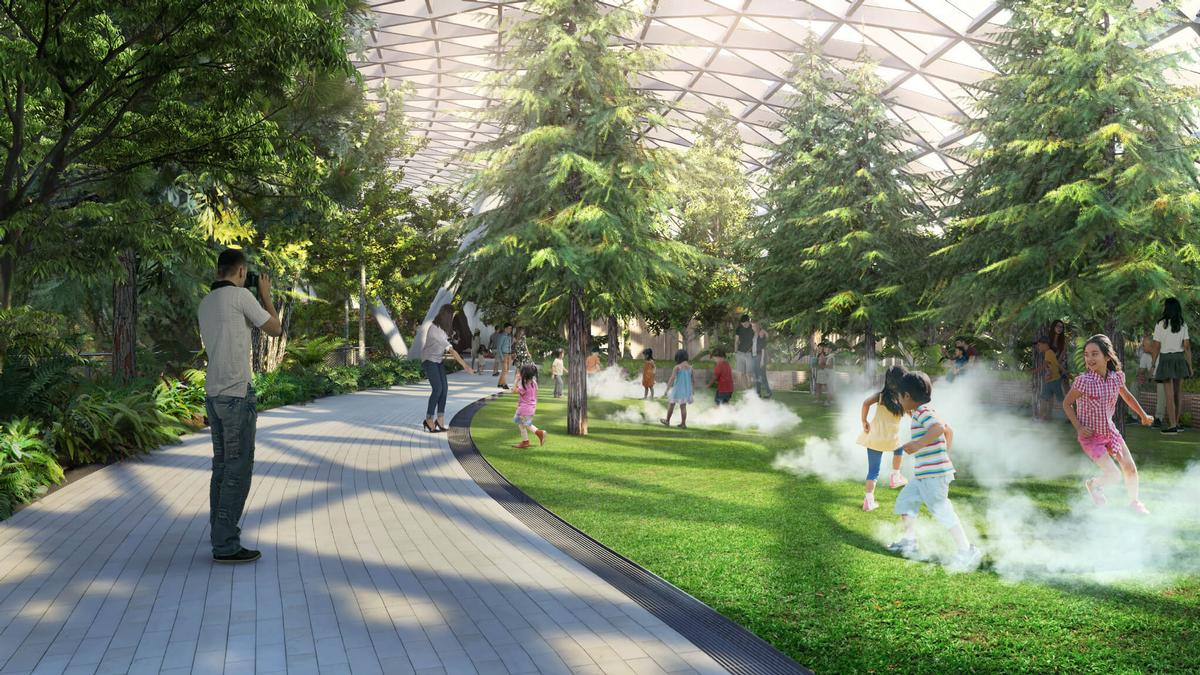 The attraction is being developed for passengers and tourists alike / Changi Airport