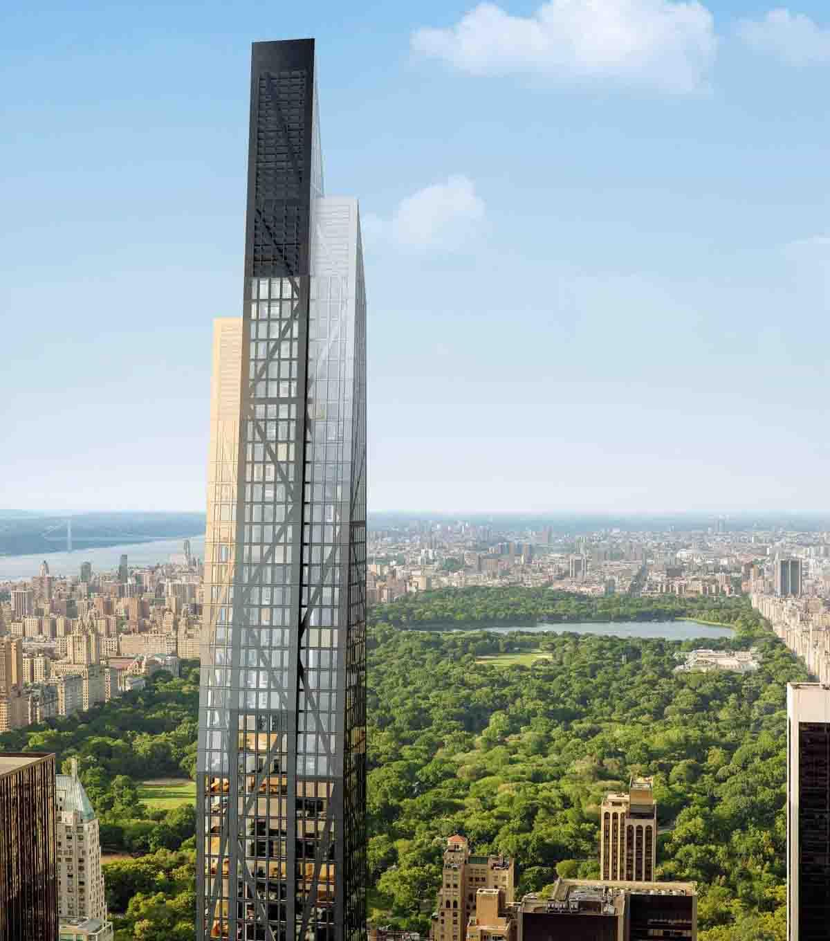 Designed by Jean Nouvel, 53W53 offers unobstructed views of Central Park / Hayes Davidson