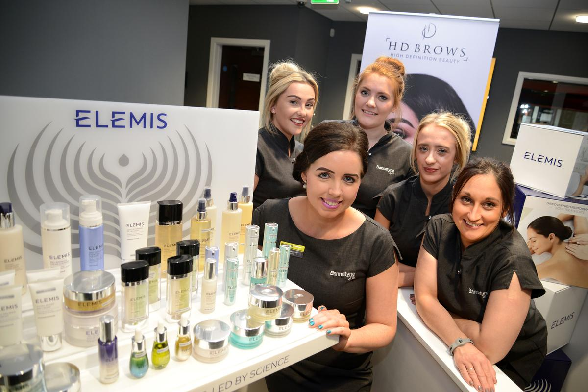 Ashleigh Baker (front) will lead the spa team at the Bannatyne Spa in Ingleby Barwick