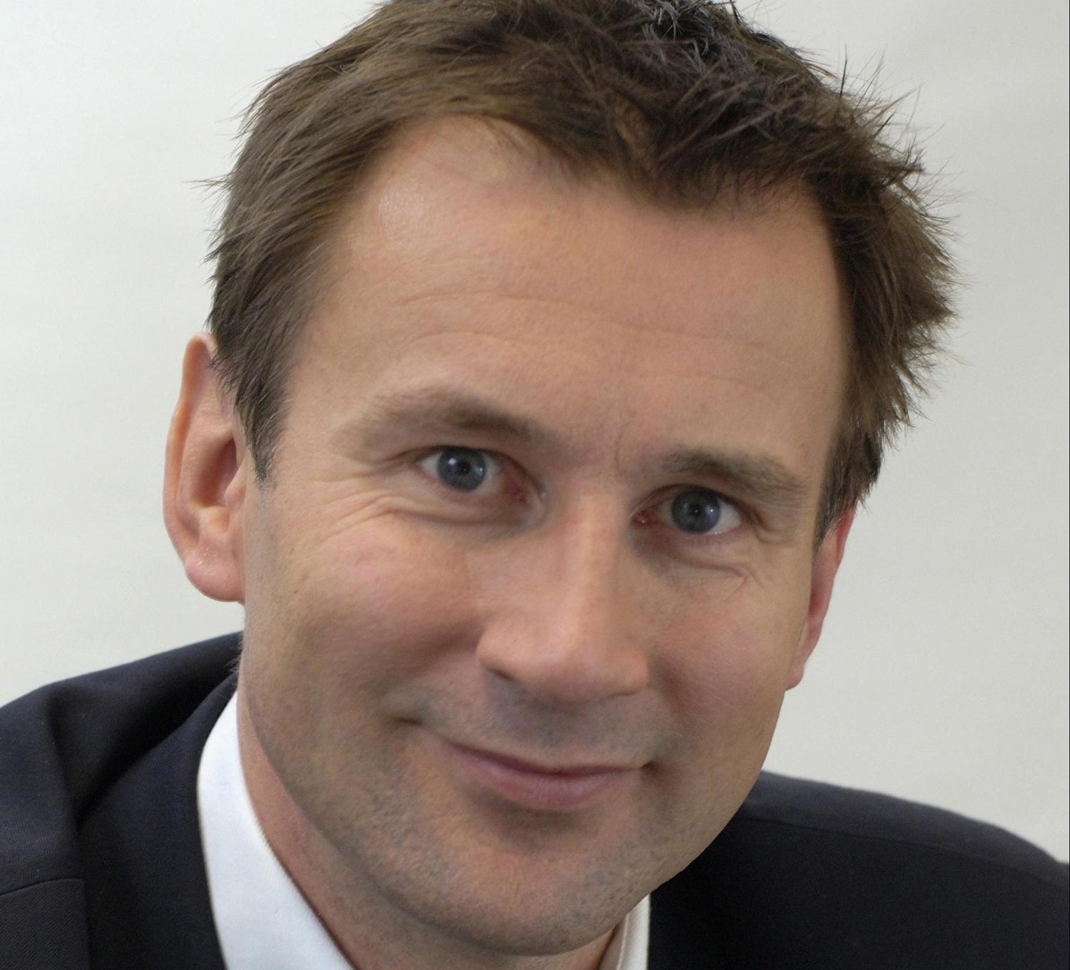 Hunt will share his vision on the role of physical activity in supporting the NHS / Department of Health and Social Care