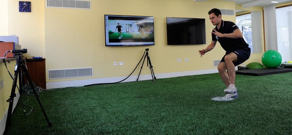 Facilities include an indoor 4G surface and camera systems allowing on-field movement analysis