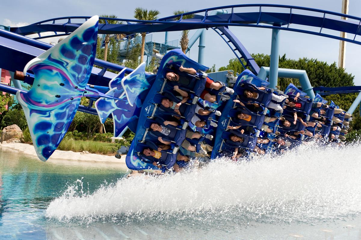 SeaWorld has started the year off strong, recording a positive first quarter