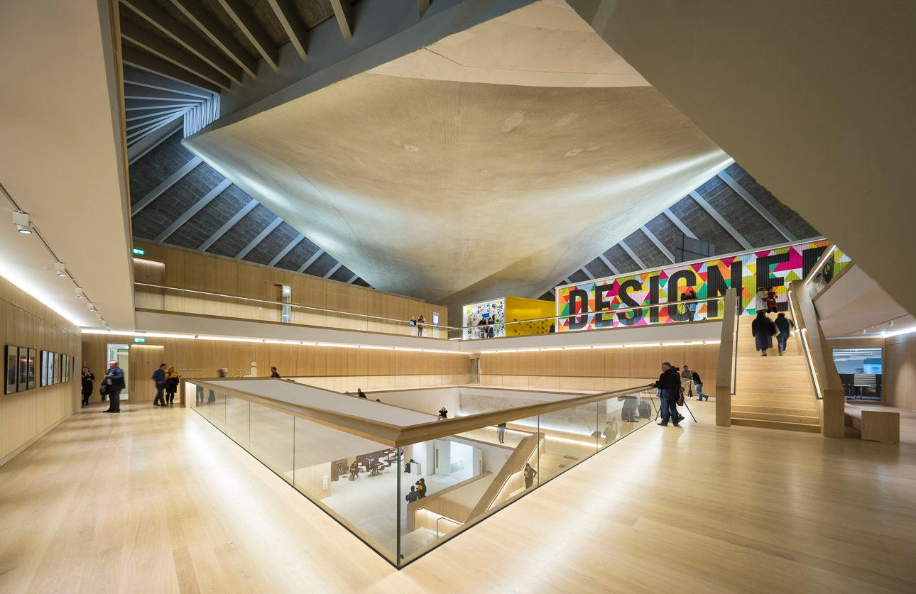 The museum was reimagined by architecture firm OMA, along with Allies and Morrison and interior designer John Pawson
