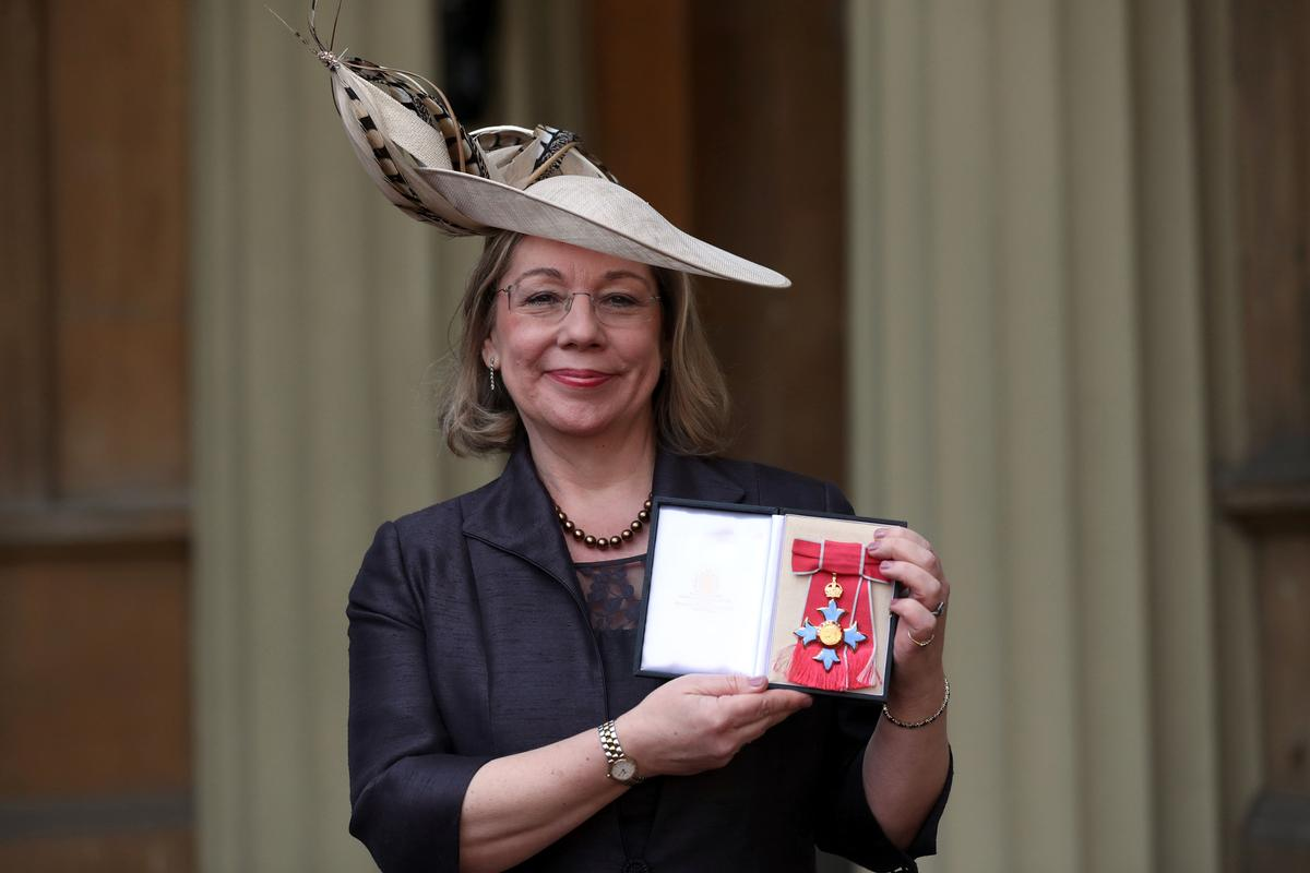 Price was awarded the CBE for services to sport in 2017