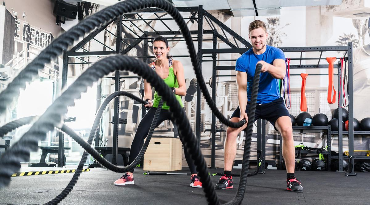 One in every seven Brits – a total of 10 million people – now have a gym membership / Shutterstock