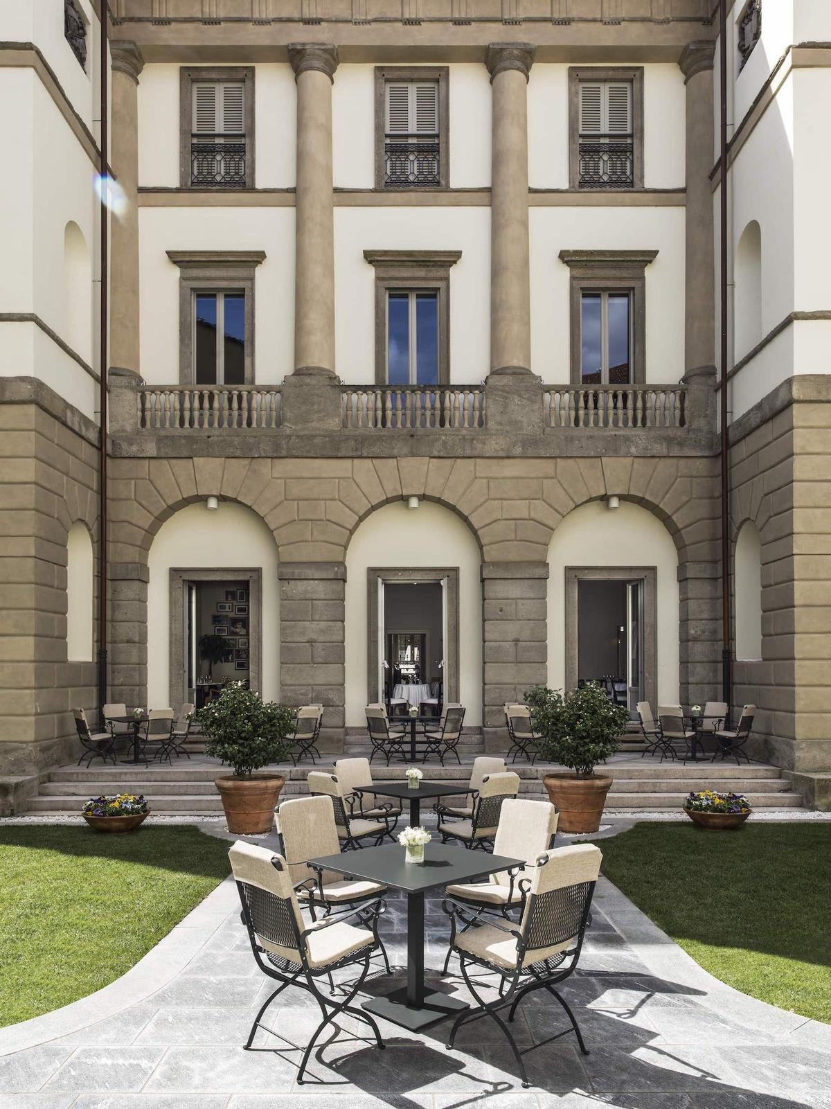 Palazzo Reina, which was commissioned by the noble Milanese Reina family and built in 1830 by architect Nicola Dordoni, has been carefully restored and converted by Ed Ng and Terence Ngan  / AB Concept