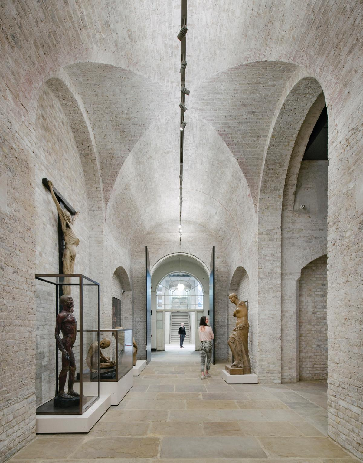 To celebrate its 250th anniversary year, the RA – one of the world's oldest and foremost artist and architect-led institutions – commissioned the renovation of its historic central London home / Simon Menges
