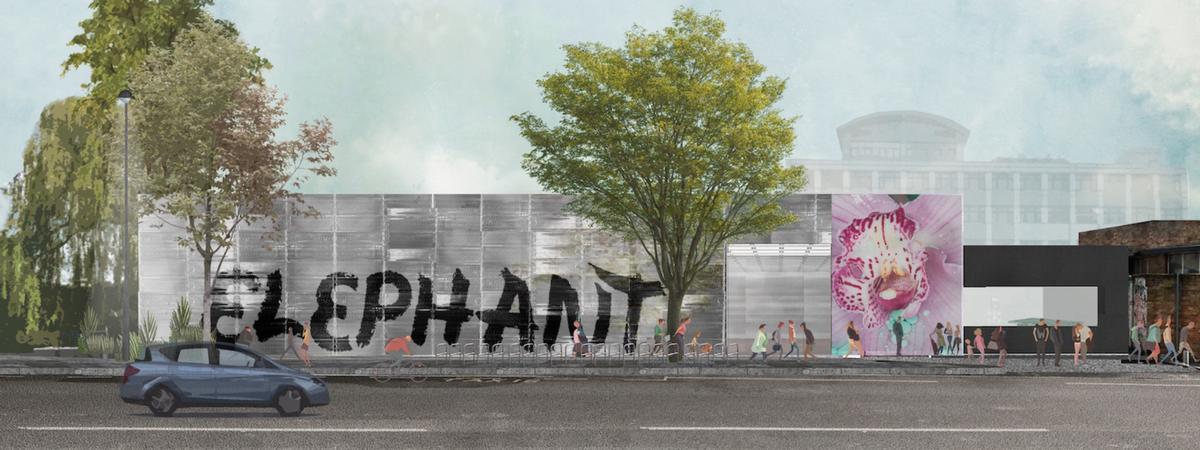 Members of Elephant magazine will curate a series of shows at the redeveloped site