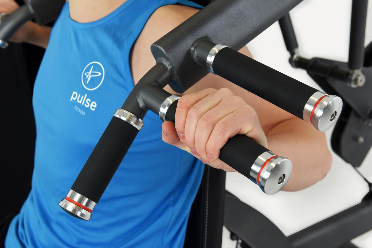 Dual Strength is a new range of strength training machines that can be easily adjusted through a pull-spring loaded, lock-pin system to accommodate two different types of exercises