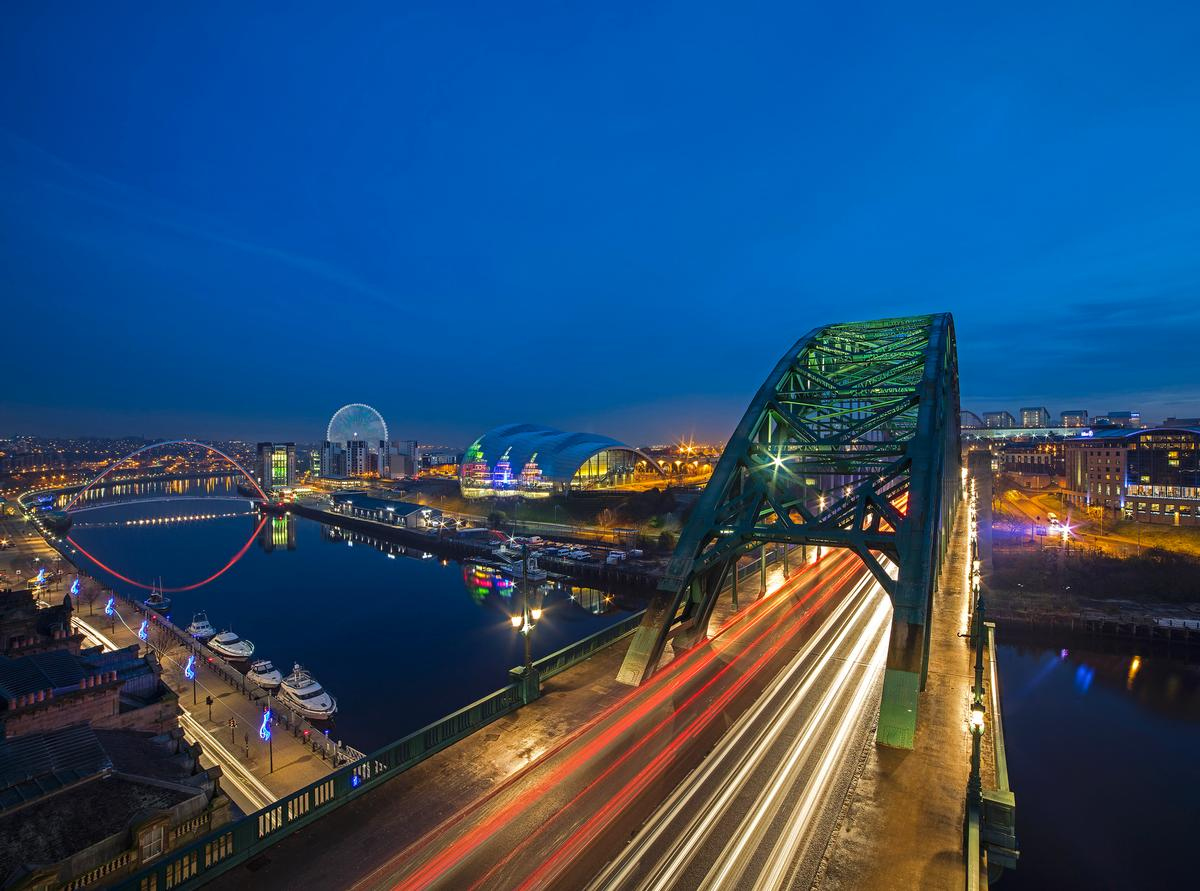 Artist's impression shows Whey Aye observation wheel against Tyneside's iconic landscape / Graeme Peacock