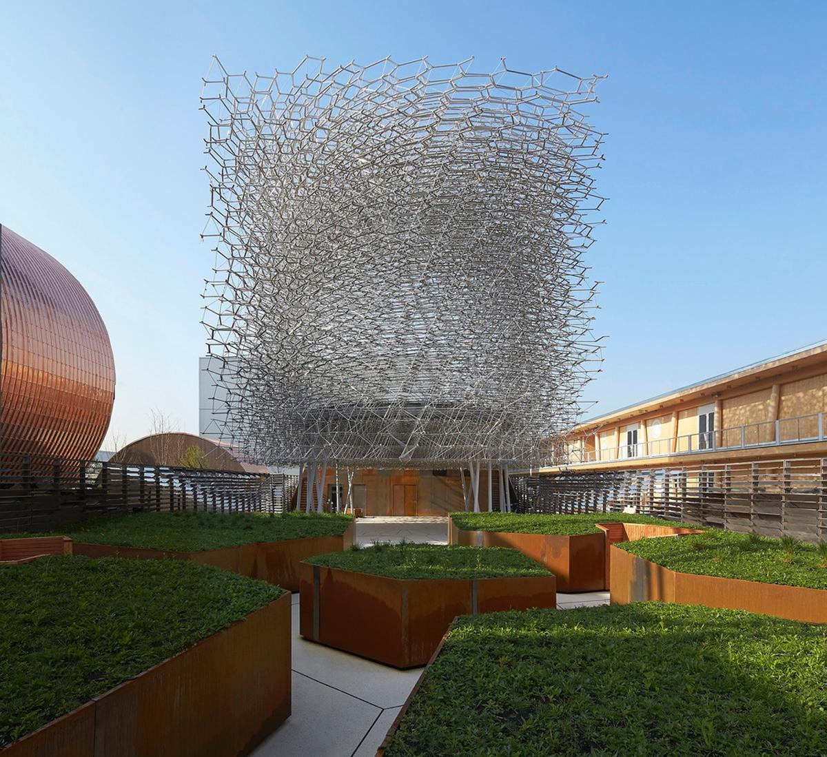 Wolfgang Buttress and BDP designed the UK pavilion for the 2015 expo