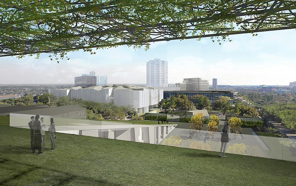 Two new buildings are being created for the cultural complex