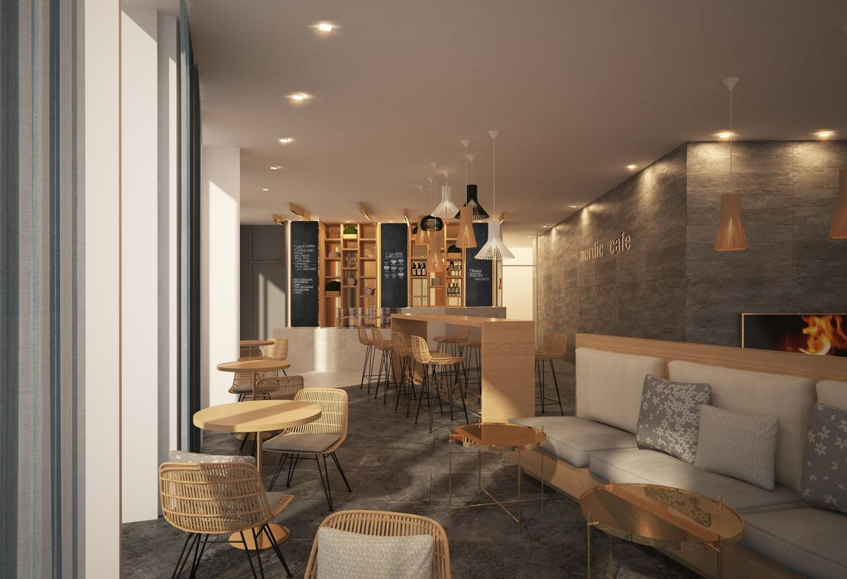 Nordic design elements will be used throughout the hotel