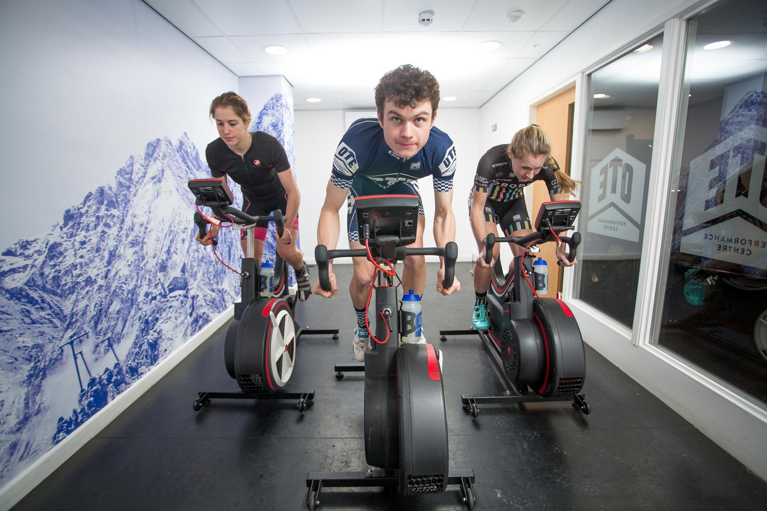 Wattbike's performance computer enables the accurate measurement of over 40 parameters