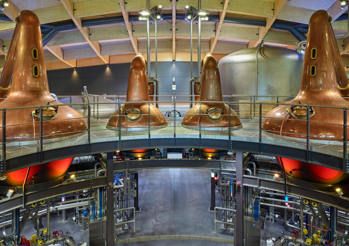 The new centre reveal the production process behind The Macallan's single malt whisky