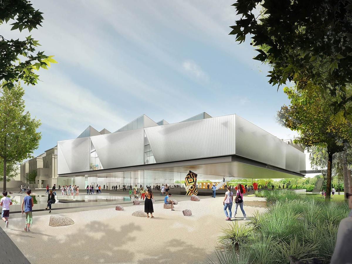 Intended to revitalise the site of the former Royal Adelaide Hospital (oRAH), the attraction will be a sister museum to the Art Gallery of South Australia / Diller Scofifio + Renfro and Woods Bagot/Malcolm Reading