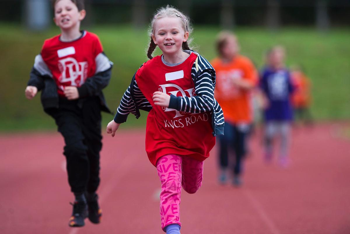 According to the study, the Active Schools initiative has made 98 per cent of children and young people feel healthier / Sportscotland