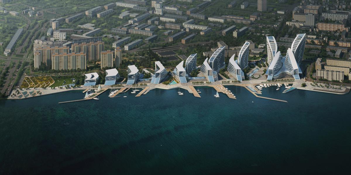 Zaha Hadid Architects Reveal Leisure Masterplan For Russian