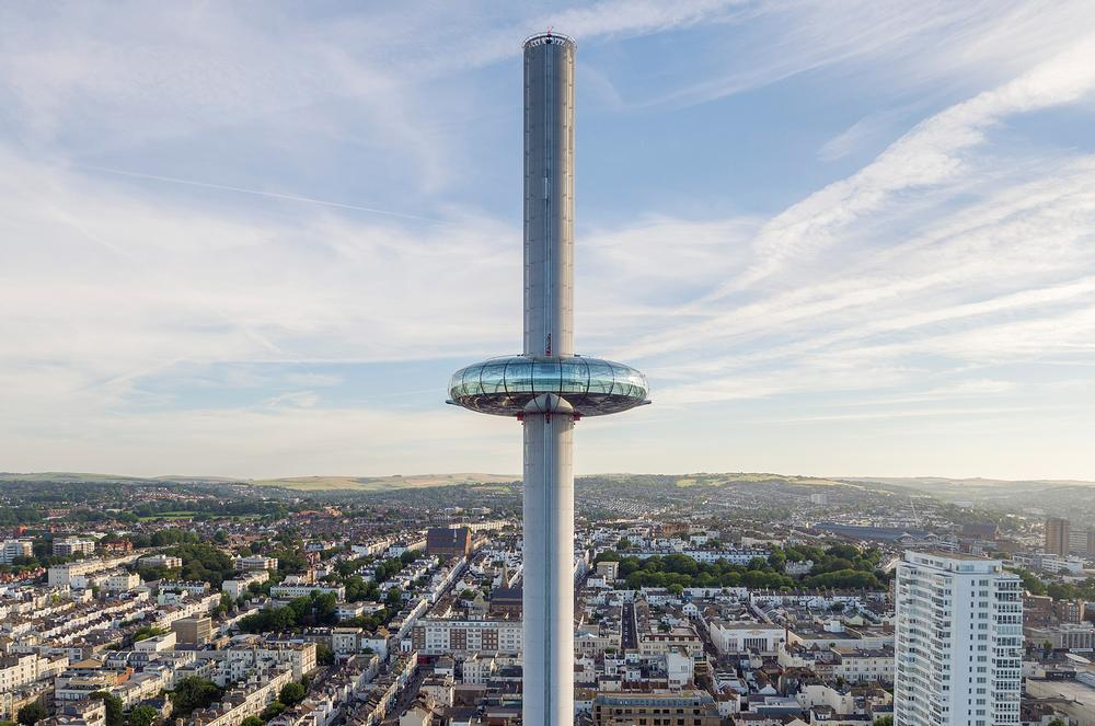 The i360 opened in August following 11 years of development
