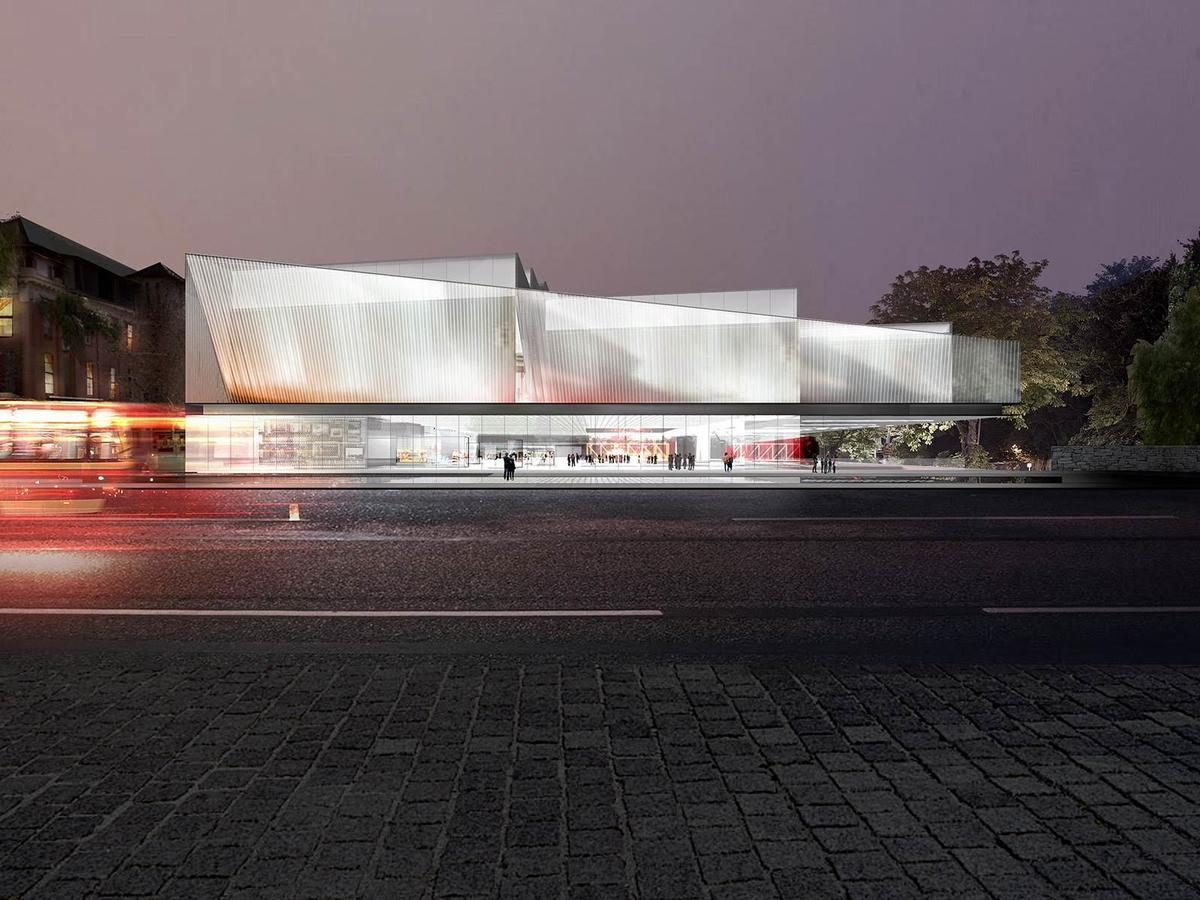 A design team led by US studio Diller Scofidio + Renfro and Australian architects Woods Bagot has won the international design competition for the Adelaide Contemporary art museum / Diller Scofifio + Renfro and Woods Bagot/Malcolm Reading