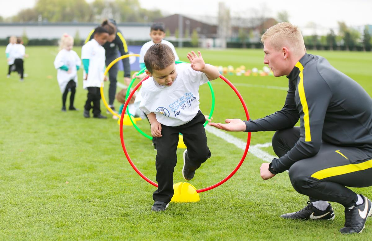City in the Community engages with more than 20,000 young people every week / MCFC