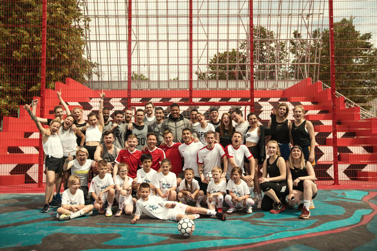 Around 7,300 hours of sport classes will take place at the Nike BOX Msk in its first year / Nike